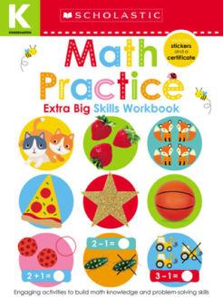 Picture of Kindergarten Extra Big Skills Workbook: Math Practice