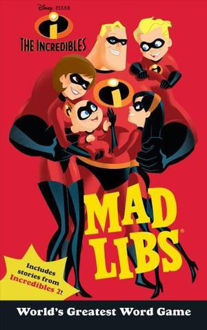 Picture of The Incredibles Mad Libs