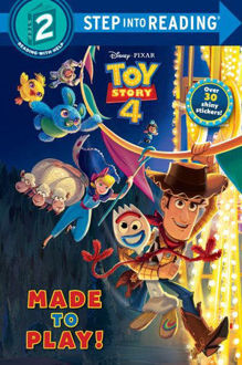 Picture of Disney/Pixar Toy Story 4 Made to Play! Step Into Reading. Step 2