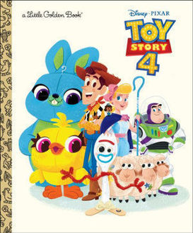 Picture of Disney/Pixar Toy Story 4 Little Golden Books