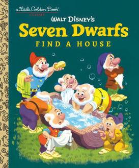 Picture of Seven Dwarfs Find a House Little Golden Books
