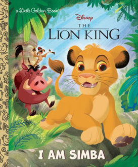 Picture of I Am Simba Little Golden Book