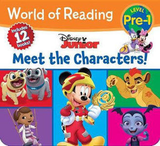 Picture of World of Reading Disney Junior Meet the Characters (Pre-Level 1 Box Set)