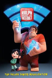 Picture of Wreck-It Ralph 2 Deluxe Hardcover Junior Novelization (Disney Wreck-It Ralph 2)