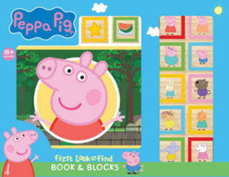 Picture of Peppa Pig - First Look and Find Board Book and Block Set