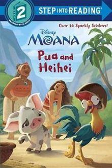 Picture of Pua and Heihei (Disney Moana) Step Into Reading. Step 2