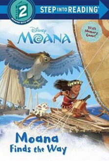 Picture of Moana Finds the Way (Disney Moana) Step Into Reading. Step 1