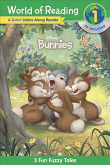 Picture of World of Reading Disney Bunnies 3-in-1 Listen-Along Reader (Level 1)