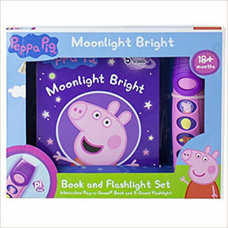 Picture of Peppa Pig - Moonlight Bright Sound Book and Flashlight Set