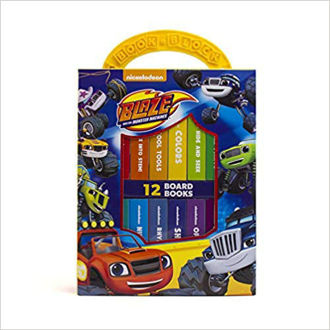 Picture of Nickelodeon - Blaze and the Monster Machines - My First Library Board Book Block 8-Book Set