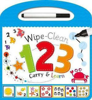Picture of Wipe - Clean 123 Carry & Learn