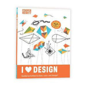 Picture of I Heart Design Cooper Hewitt Activity Journal