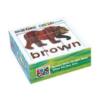 Picture of Eric Carle Brown Bear, Brown Bear, What Do You See? Block Puzzle