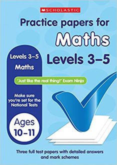 Picture of Practice Papers for National Tests: Maths (Levels 3-5)