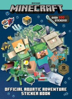 Picture of Minecraft Official Aquatic Adventure Sticker Book