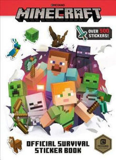 Picture of Minecraft Official Survival Sticker Book