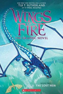 Picture of Wings of Fire : The Lost Heir Wings of Fire : Book 2