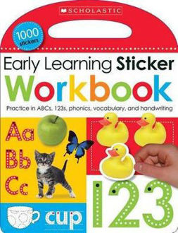 Picture of Early Learning Sticker Workbook Scholastic Early Learners