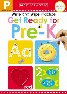 Picture of Write and Wipe Practice: Get Ready for Pre-K