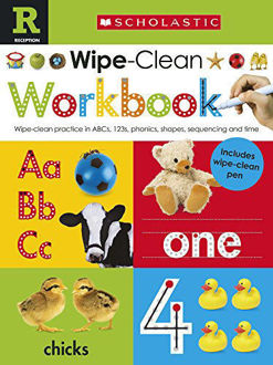 Picture of Scholastic Early Learners: Wipe Clean Workbook (Reception)