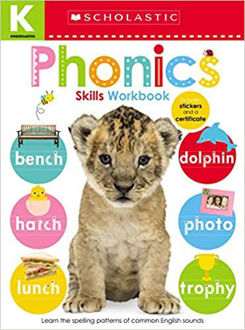 Picture of Kindergarten Skills Workbook: Phonics (Scholastic Early Learners)
