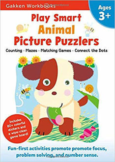 Picture of Play Smart Animal Picture Puzzlers 3+