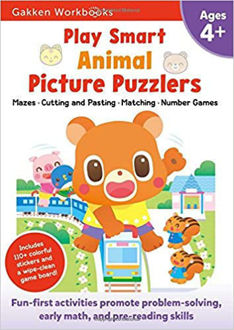 Picture of Play Smart Animal Picture Puzzlers 4+