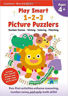 Picture of Play Smart 1-2-3 Picture Puzzlers 4+