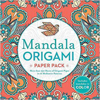 Picture of Mandala Origami Paper Pack