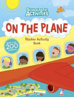 Picture of On the Plane Sticker Activity Book