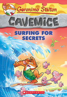 Picture of Geronimo Stilton Cavemice #8: Surfing for Secrets