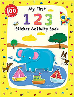 Picture of First Skills: My First 123 Sticker Activity Book