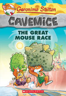 Picture of Geronimo Stilton Cavemice #5: The Great Mouse Race