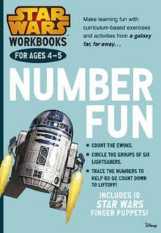 Picture of Star Wars Workbooks Number Fun