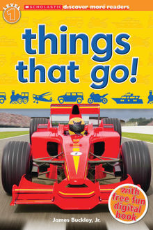 Picture of Scholastic Discover More Reader Level 1: Things That Go!