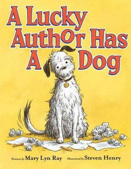 Picture of A Lucky Author Has a Dog