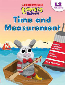 Picture of Time and Measurement Scholastic Learning Express, L2