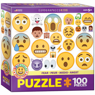 Picture of EuroGraphics Fear Emoji Puzzle Jigsaw Puzzle