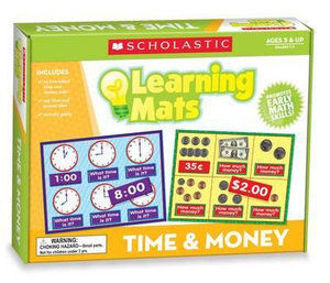 Picture of Time & Money Learning Mats