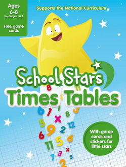 Picture of SCHOOL STARS: TIMES TABLES