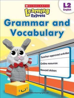 Picture of Grammar and Vocabulary Scholastic Learning Express, L2