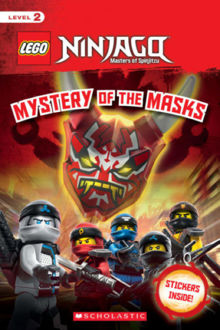 Picture of Reader Level 2: LEGO Ninjago: Mystery of the Masks