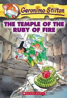 Picture of The Temple of the Ruby of Fire Geronimo Stilton : Book 14