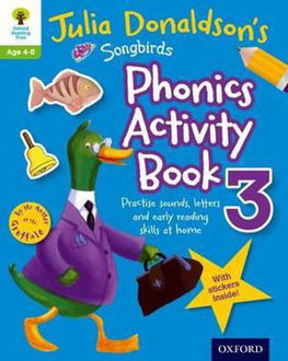 Picture of Julia Donaldson's Songbirds Phonics Activity Book 3