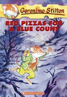 Picture of Red Pizzas for a Blue Count Geronimo Stilton : Book 7