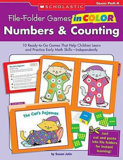 Picture of Numbers & Counting, Grades PreK-K 10 Ready-To-Go Games That Help Children Learn and Practice Early Math Skills--Independently!