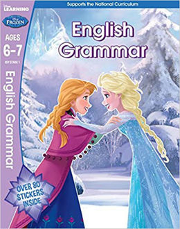 Picture of Frozen - English Grammar (Year 2, Ages 6-7) (Disney Learning) 1st Edition