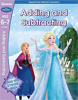 Picture of Frozen - Adding & Subtracting (Year 2, Ages 6-7) (Disney Learning) 1st Edition