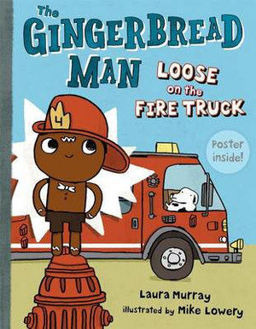 Picture of The Gingerbread Man Loose on the Fire Truck Gingerbread Man Loose