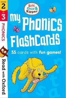 Picture of Read with Oxford Stages 2-3 Biff, Chip and Kipper My Phonics Flashcards